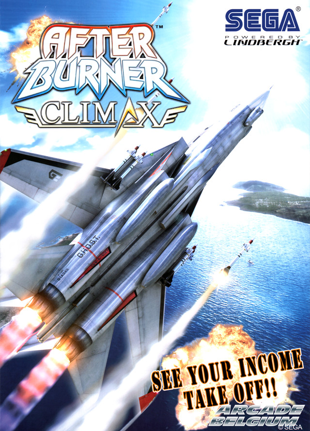 After Burner Climax brochure side A