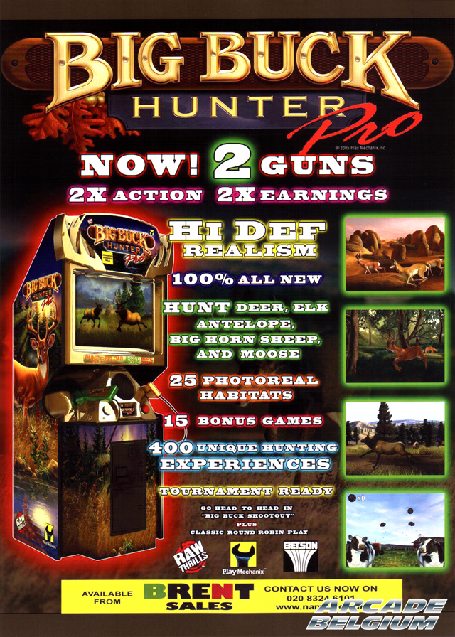 Big Buck Hunter Pro brochure