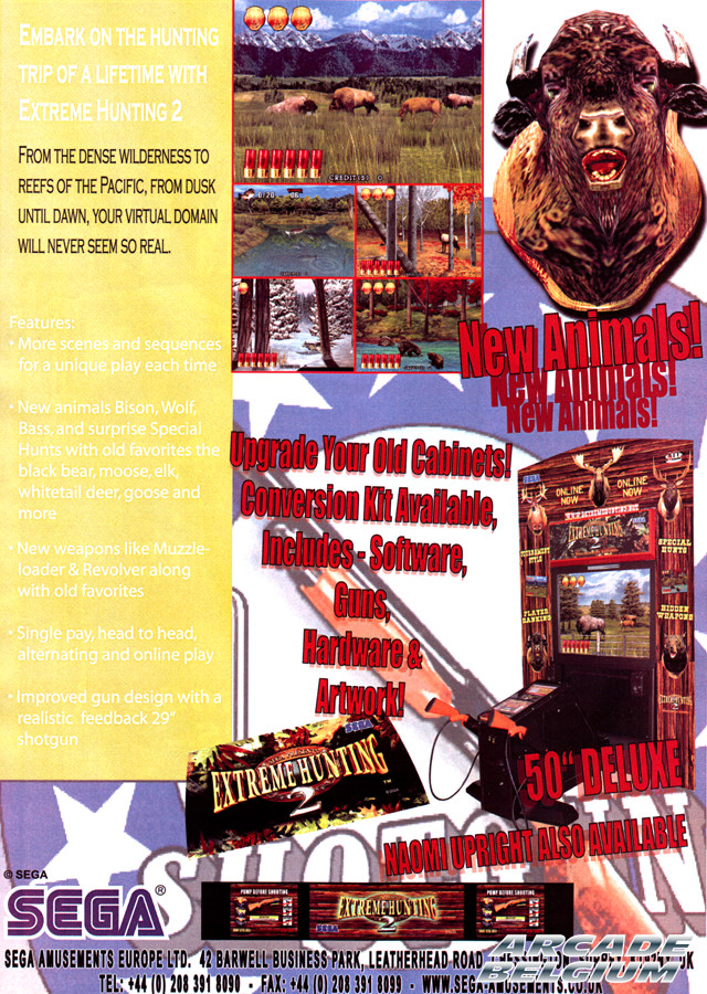 Extreme Hunting 2 brochure side B