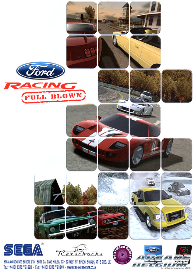 Ford Racing Full Blown brochure side A