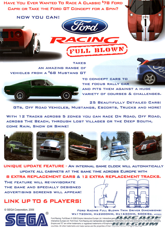 Ford Racing Full Blown brochure side B