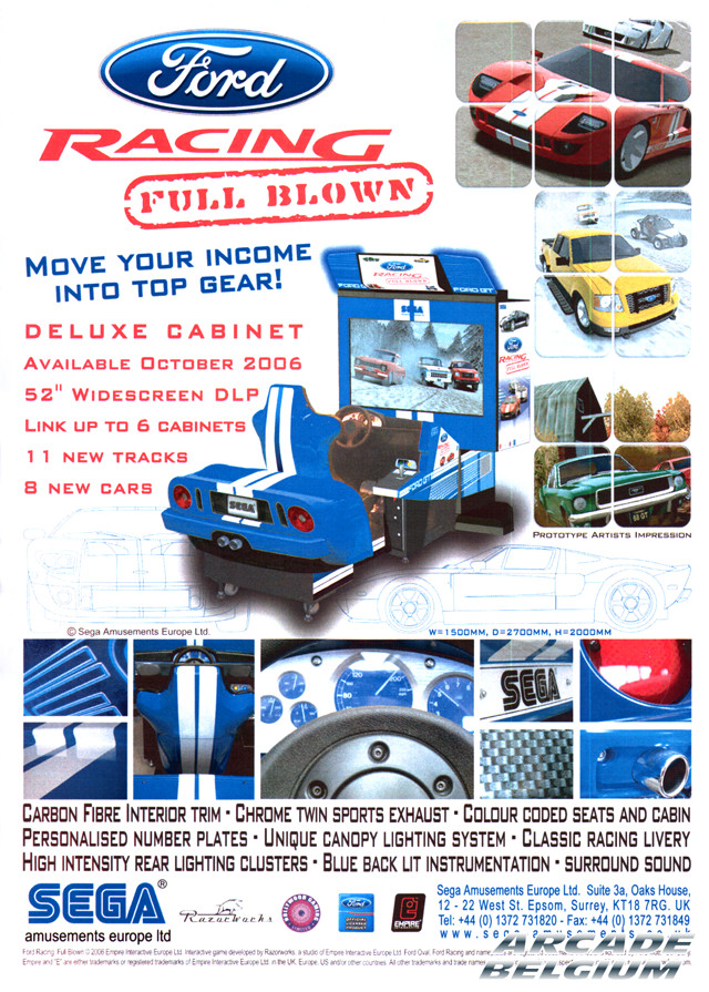 Ford Racing Full Blown Deluxe brochure