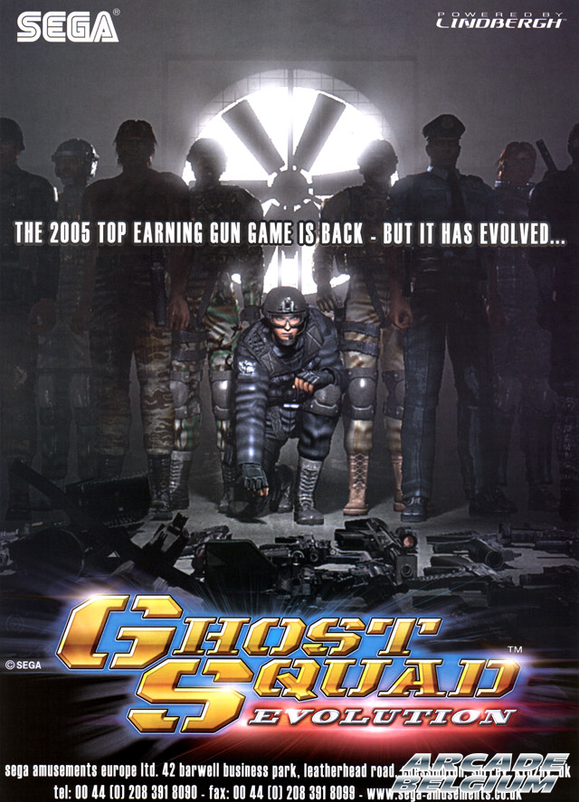 Ghost Squad Evolution brochure side A