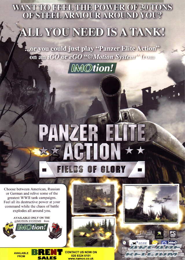 Panzer Elite Action brochure