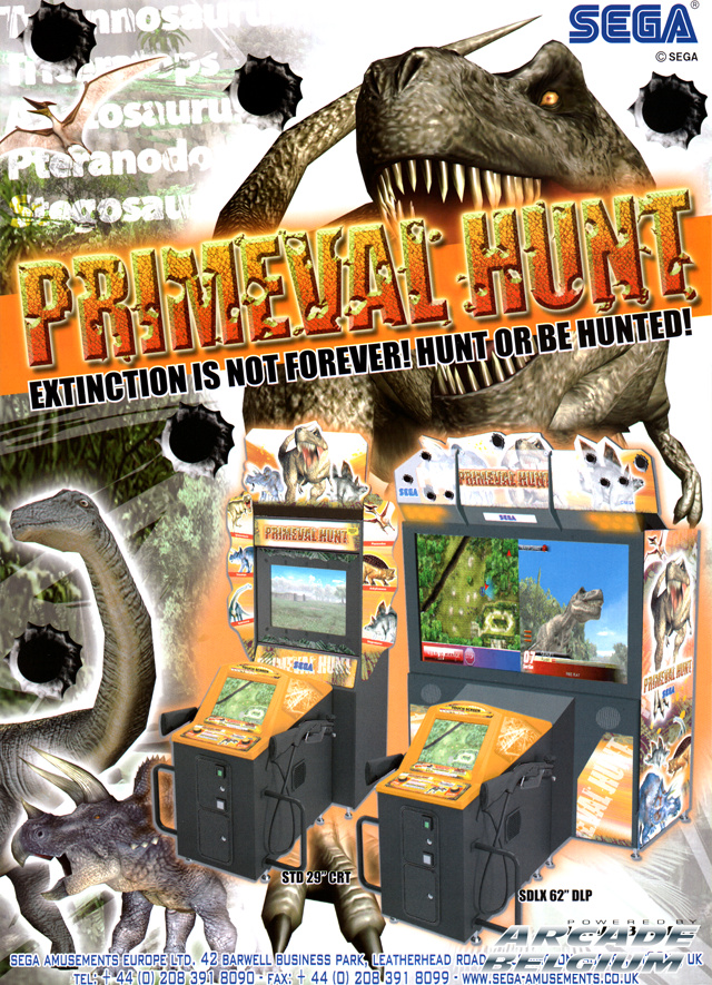 Primeval Hunt brochure side A