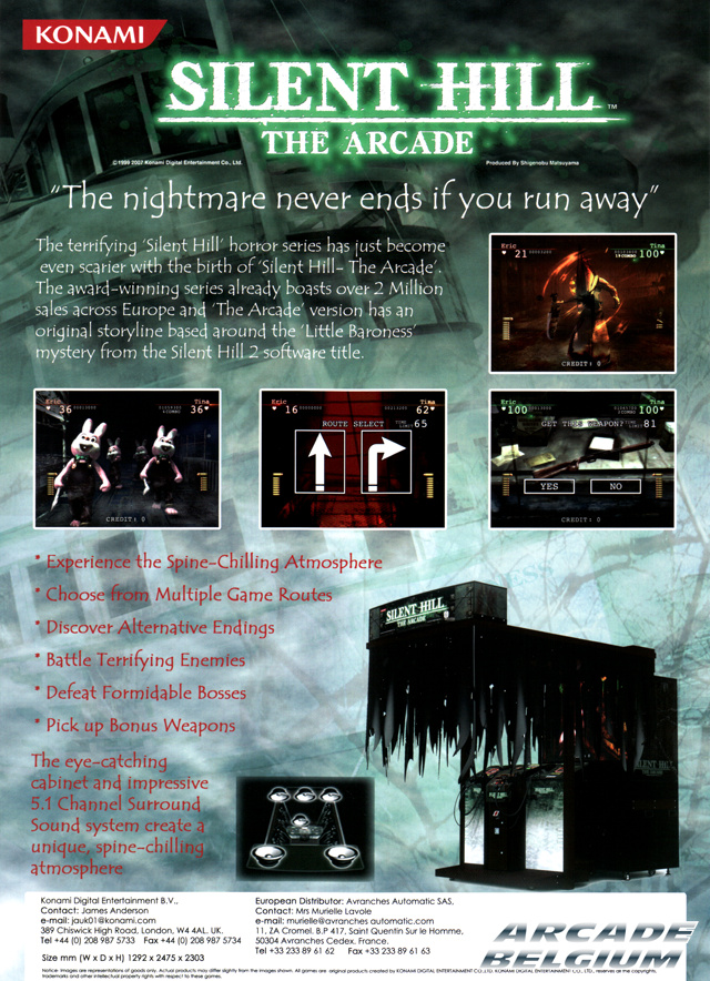 Silent Hill brochure side A