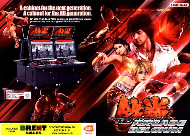 Tekken 6 brochure side A