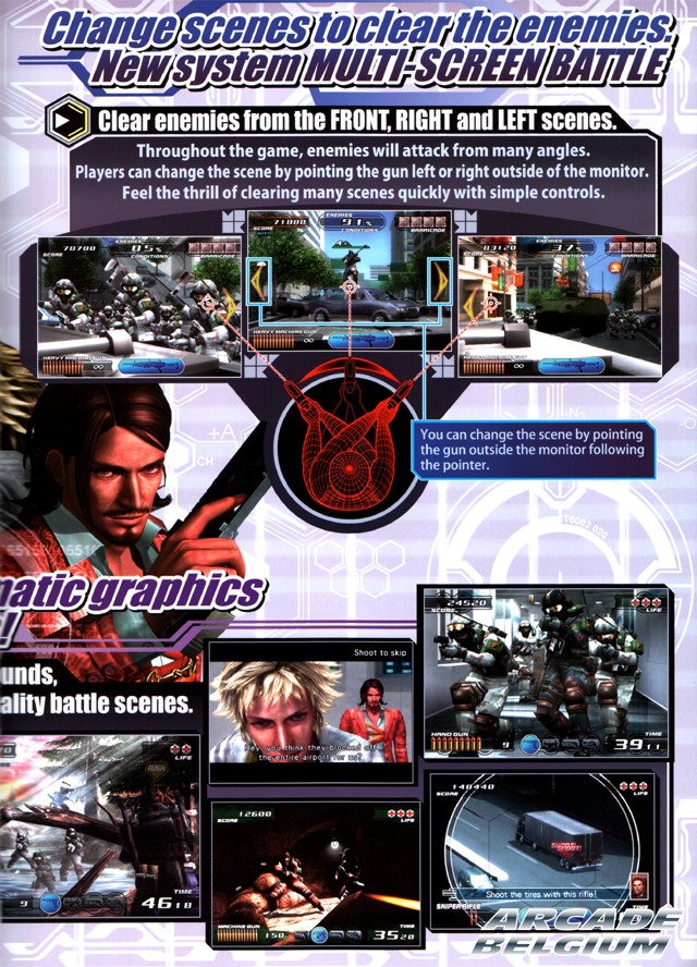 Time Crisis 4 brochure side C