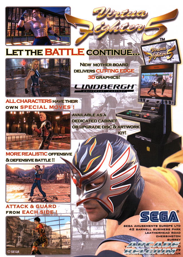 Virtua Fighter 5 brochure