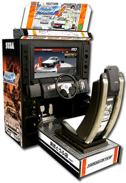 Initial D 4 cabinet