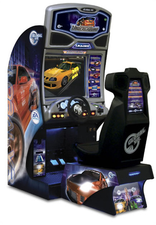 Need for Speed Underground standard cabinet