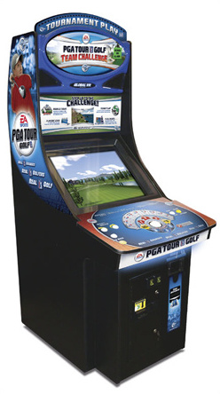 PGA Tour Golf Team Challenge Cabinet
