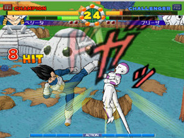 Vegeta vs Freezer