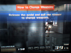 Weapon change