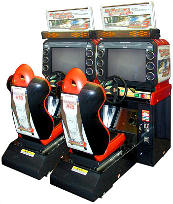 Wangan Midnight Maximum Tune 3 cabinet