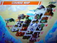 The 15 SP version's courses.