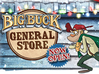 Ouverture du Big Buck General Store