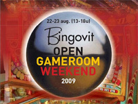 Bingovit open gameroom weekend