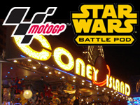 Play MotoGP and Star Wars Battle Pod in Belgium