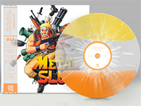 Metal Slug: Super Vehicle-001 vinyl soundtrack