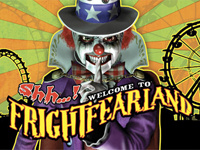 Shh...! Welcome to Frightfearland