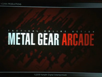 Konami announces Metal Gear Arcade at E3