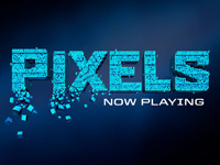 Pixels is now playing in Belgium