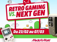 Retro-Gaming Vs. Next-Gen at Media Markt Gosselies