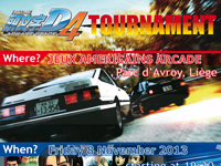 Initial D 4 tournament in Liège
