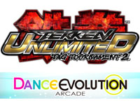 Baseball Heroes 2011 Shine Star Heat up Version, Dance Evolution Arcade and Tekken Tag Tournament 2 Unlimited
